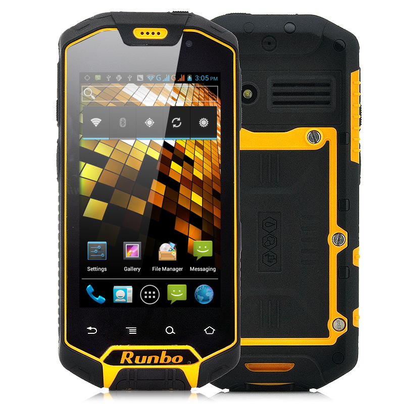 "Rugged Android 4.0 Phone ""Runbo X5"""