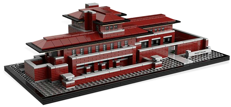 LEGO Architecture Robie House