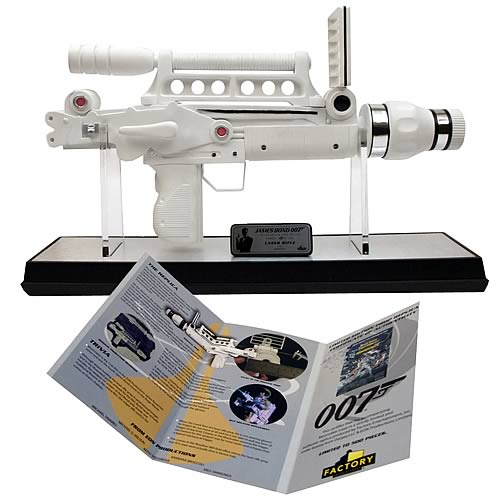 James Bond Moonraker Laser Gun Prop Replica