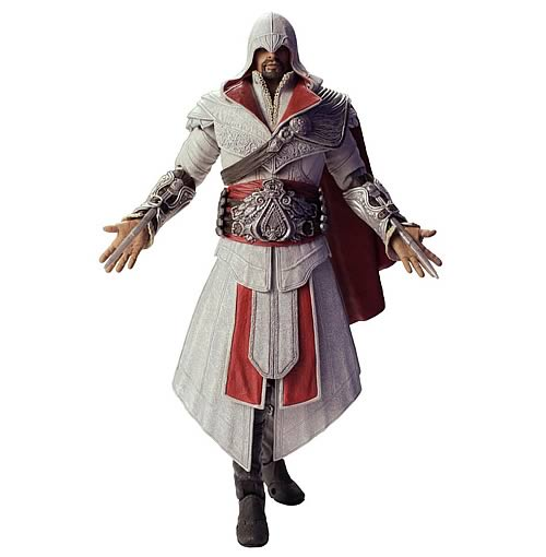 Assassin's Creed Brotherhood Ezio Ivory Costume Figure