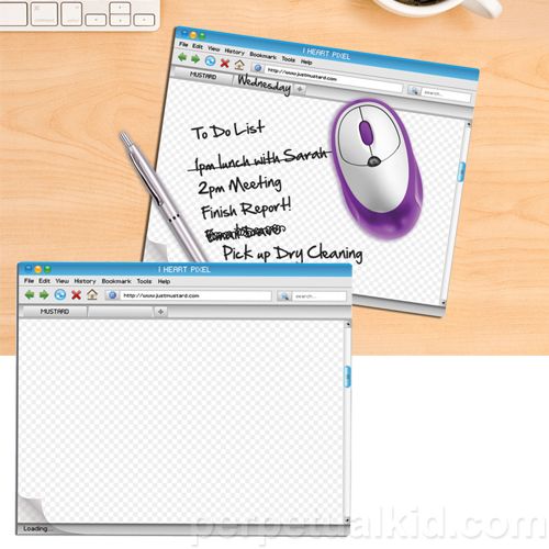 COMPUTER WINDOW MOUSEPAD & NOTEPAD