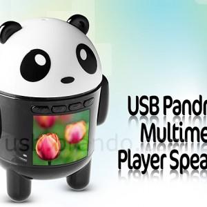 USB Pandroid Multimedia Player Speaker