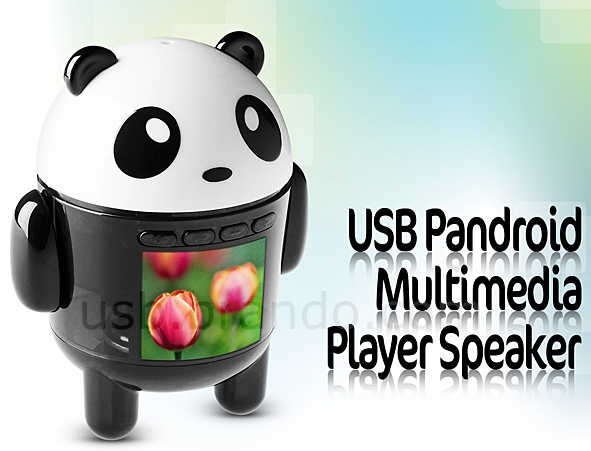 USB Pandroid Multimedia Player Speaker