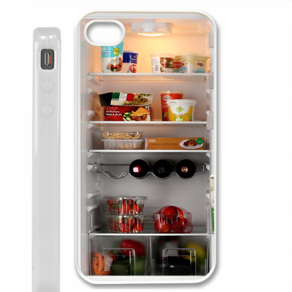 Inside my fridge iPhone 5 case