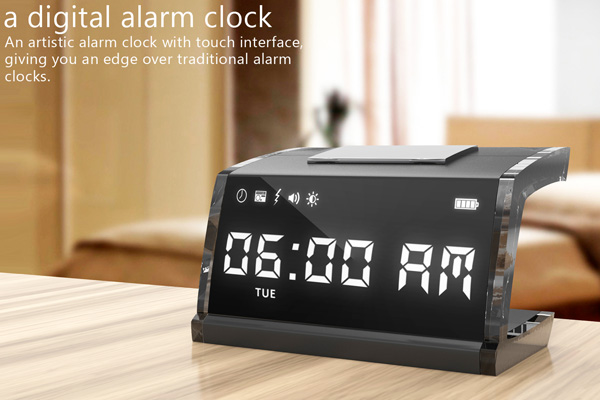 Electrifying Touchscreen Alarm Clock