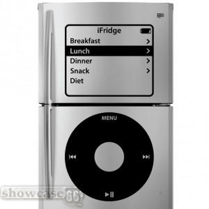 iPod Inspired Fridge Art