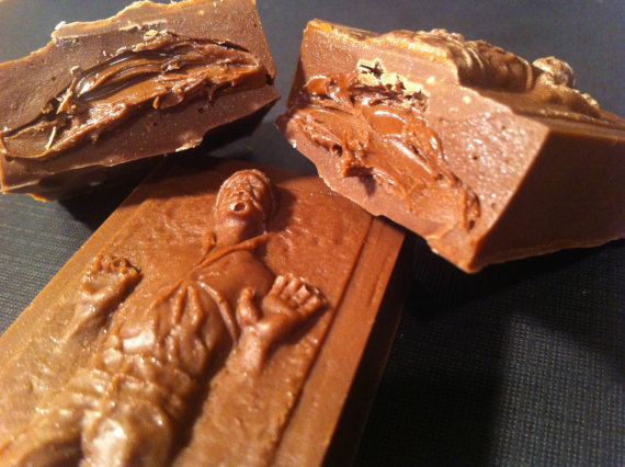 Han Solo in Carbonite Chocolate Truffle Bar