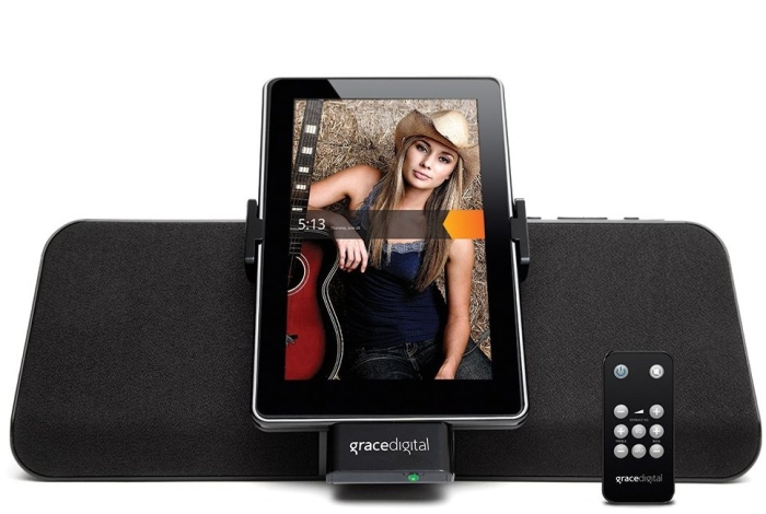Charging Speaker Dock for Kindle Fire