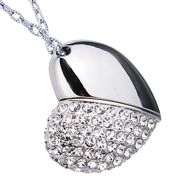 32 GB Crystal Jewelry necklace