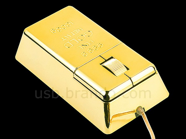 USB Gold Bar Mouse
