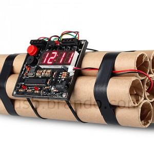 USB Time Bomb Alarm Clock