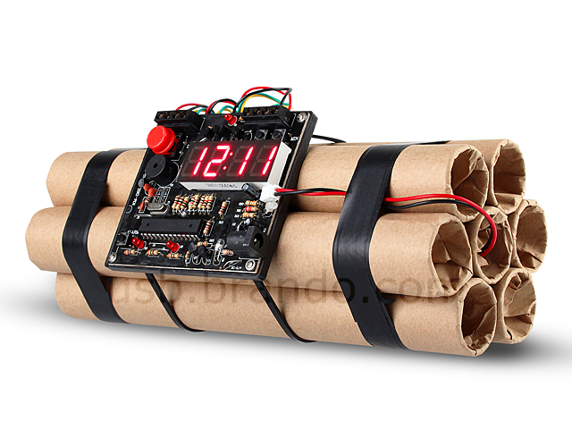 USB Time Bomb Alarm Clock