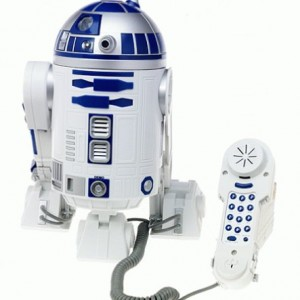 Star Wars R2D2 Novelty Phone