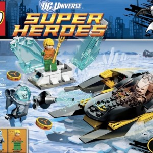 LEGO Super Heroes Arctic Baan vs Mr Freeze