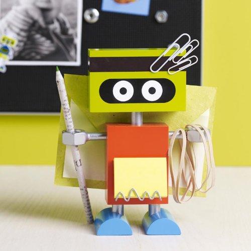 Robot Desk Organizer