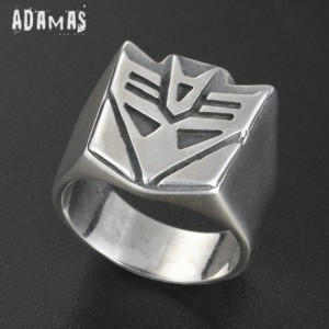 Sterling Silver Decepticons Ring