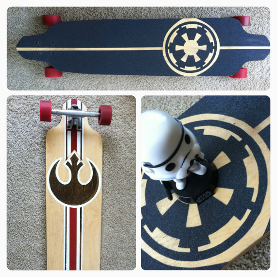 Duality Star Wars Longboard