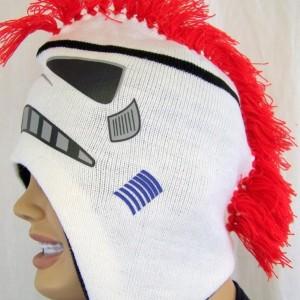 Star Wars Storm Trooper Kids Mohawk Plush Beanie
