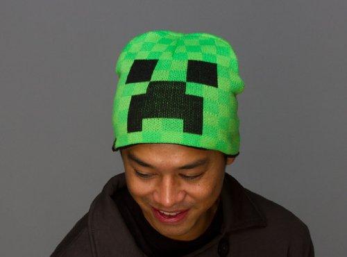 Minecraft Creeper Laplander Beanie