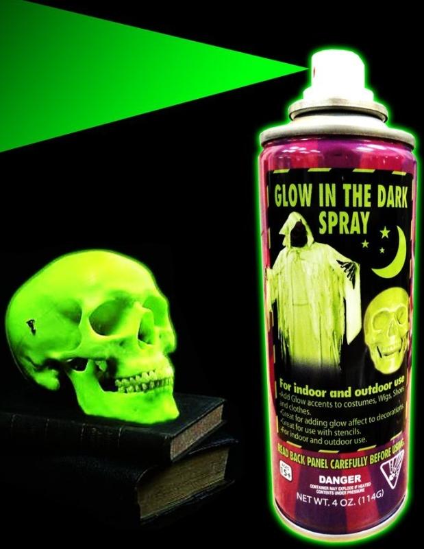 glow in the dark spray paint. Black Bedroom Furniture Sets. Home Design Ideas