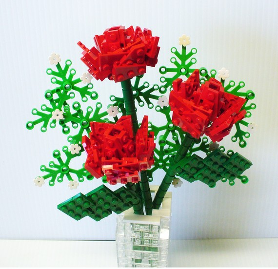 LEGO Bouquet of Red Roses