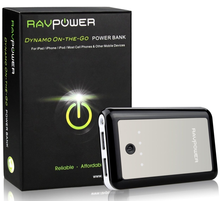RAVPower 7800mAh Power Bank External Charger Juice Pack