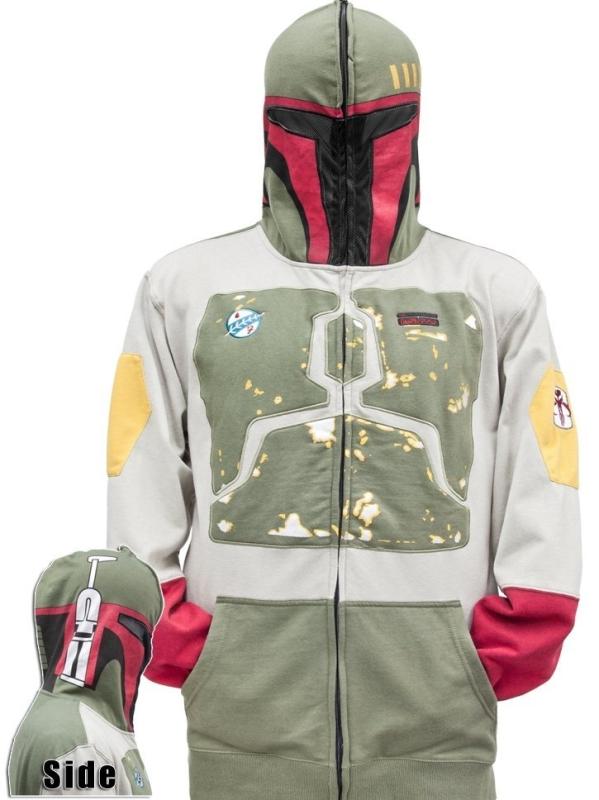 Star Wars Boba Fett Full Zip Hoodie