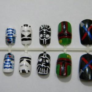 Star Wars Press On Nails