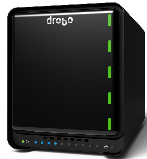 Drobo 5D 5-bay Storage Array, Thunderbolt/USB 3.0