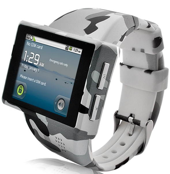 "Android Phone Watch ""Rock"""
