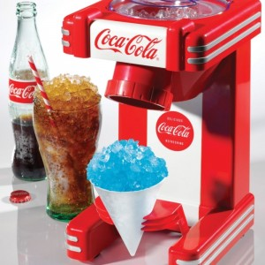Nostalgia Electrics Coca Cola Series RSM702COKE Single Snow Cone Maker
