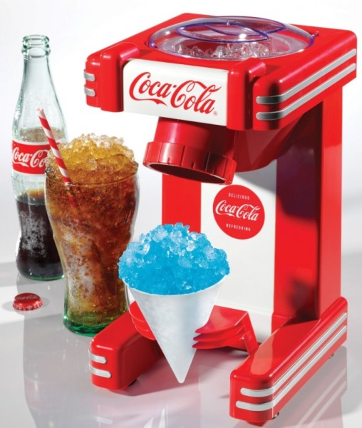 Nostalgia Electrics Coca Cola Series RSM702COKE Single Snow Cone Maker