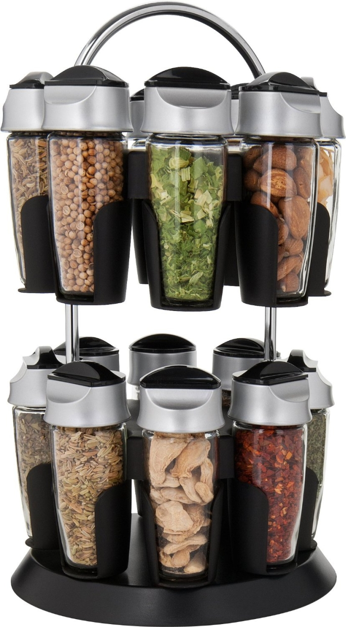 16-Bottle Spice Carousel