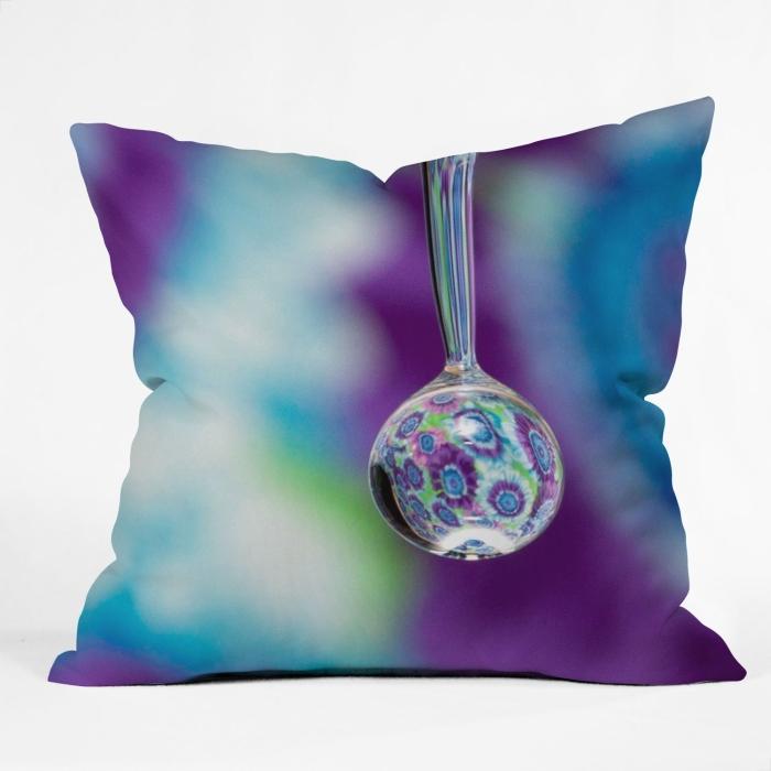 Tie Dye Throw Pillow