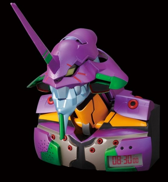 Rebuild of Evangelion EVA Unit 01 Alarm Clock