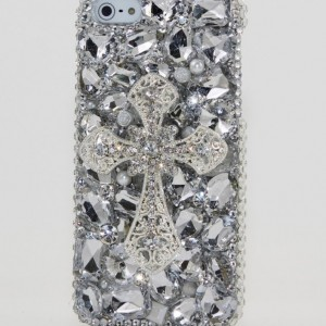 Luxury iphone 5 3D Swarovski Crystal Diamond