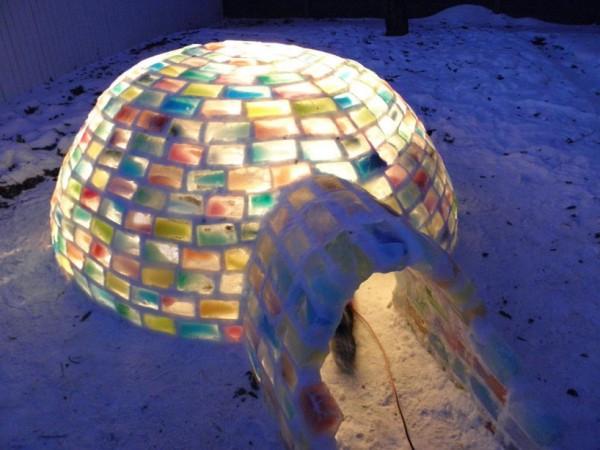 rainbow igloo