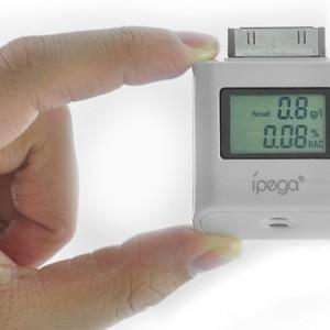 "LCD Digital Alcohol Tester for iPad, iPhone, iPod ""Ipega"""