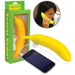 The Banana Cell Phone Handset