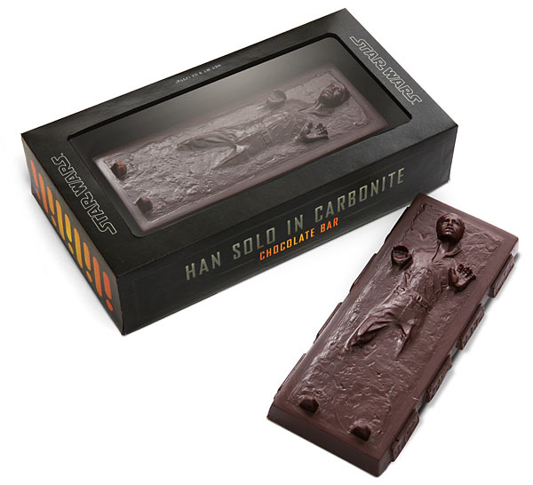 Star Wars Han Solo Carbonite Chocolate
