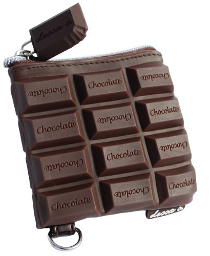 Chocolate Candy Bar Style Scented Coin Purse