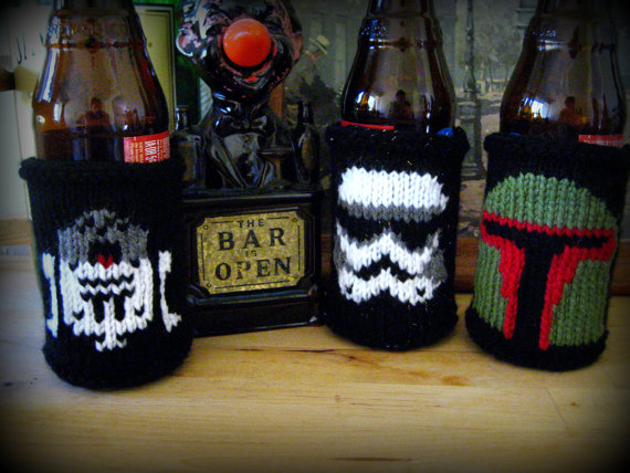 Star Wars Themed Beer Coozies