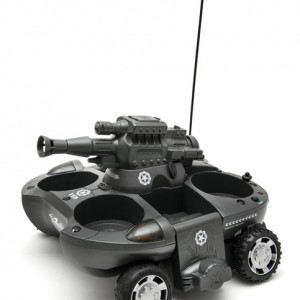 RC Water and Land Tank Drink Carrier