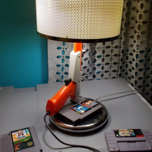 NES Zapper & Duck Hunt Table Lamp