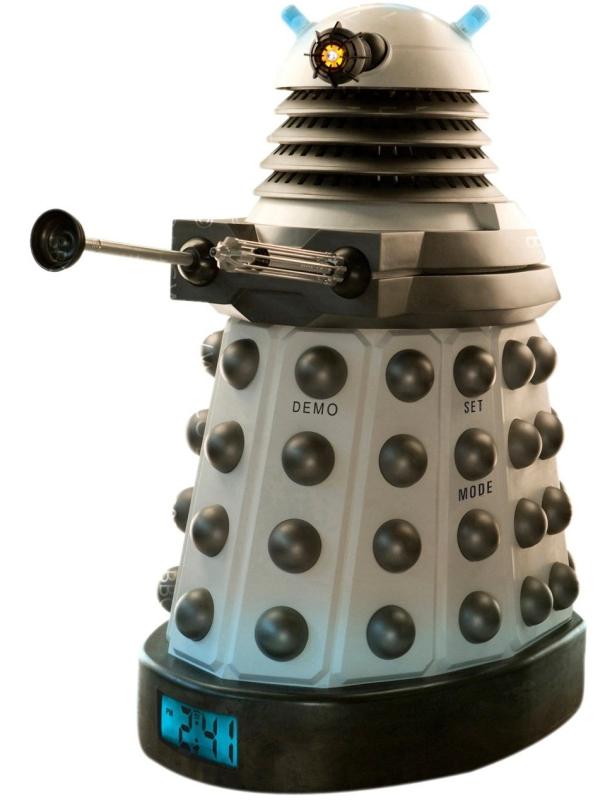 Dalek Projector Alarm Clock