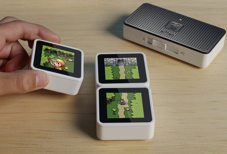 Cubes Interactive Game System