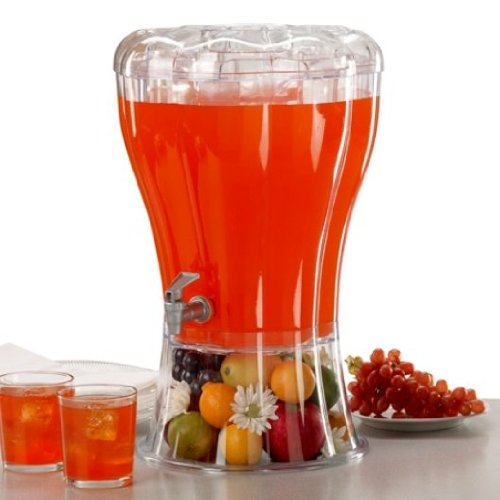 Beverage Dispenser with Removable Ice-Cone