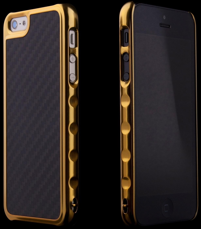 Amazon.com  ION Factory Predator Case for iPhone 5 - Gold - MAIN