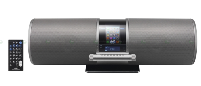 Powerful sound system with built-in iPod/iPhone dock