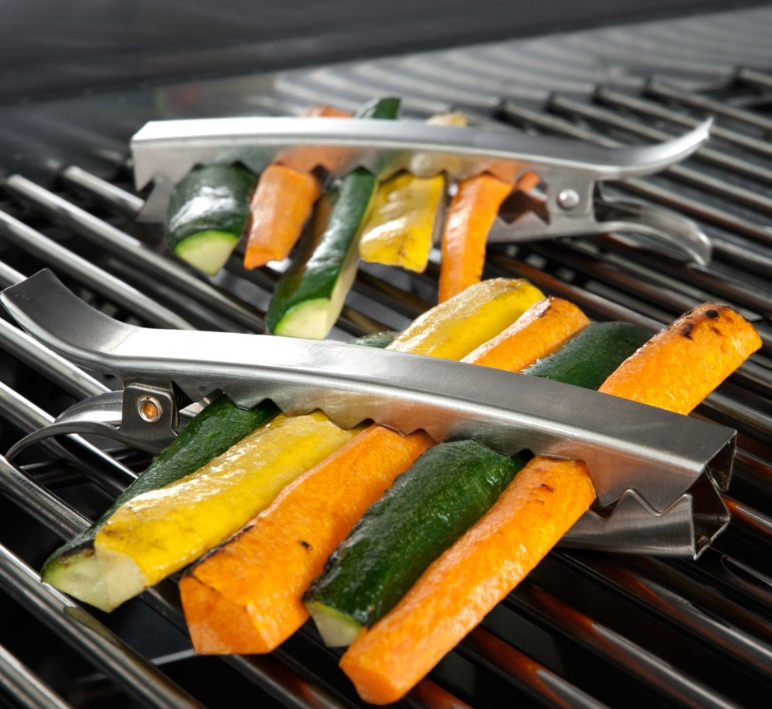 Stainless Steel Grill Clips